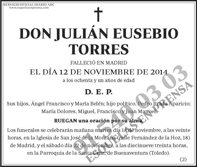 Julián Eusebio Torres